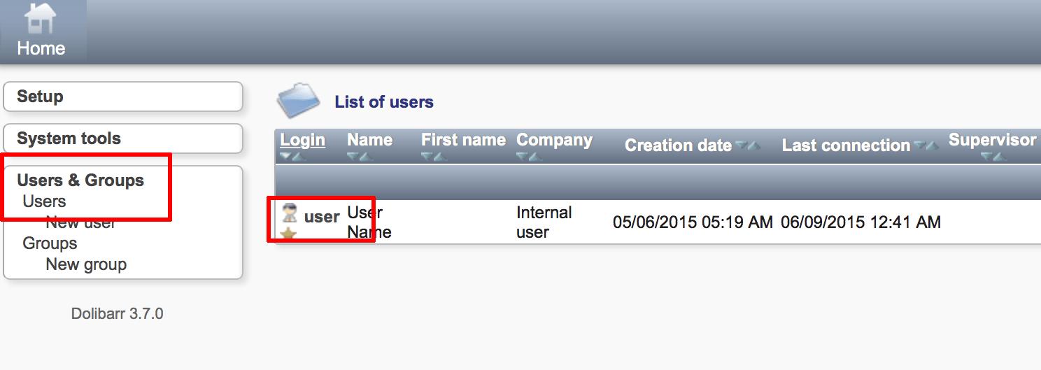 Modify the default administrator password