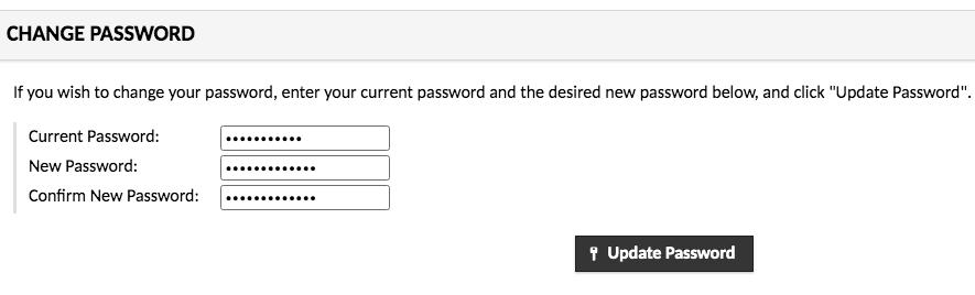 Apache Guacamole password change