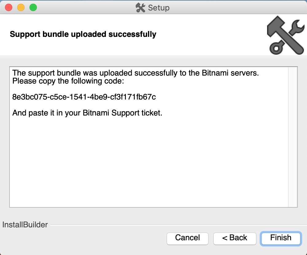 Bitnami Support OS X