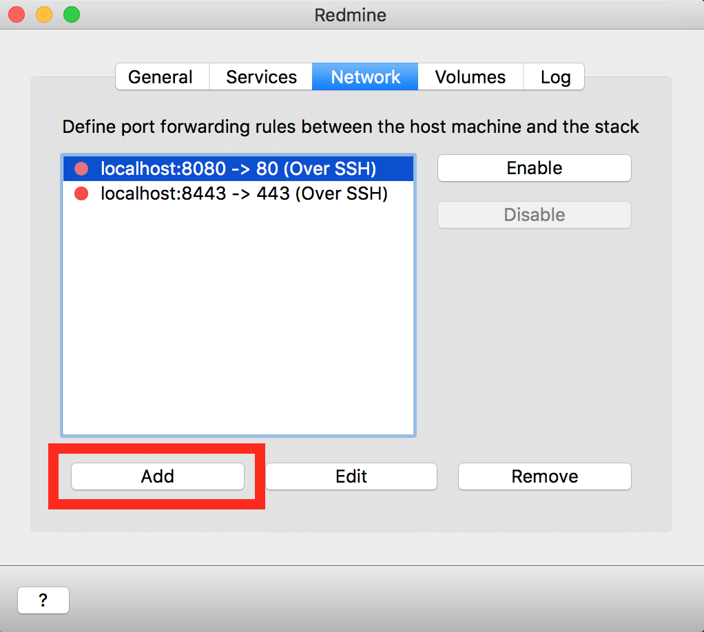 MySQL Workbench configuration for Mac OS X-VM