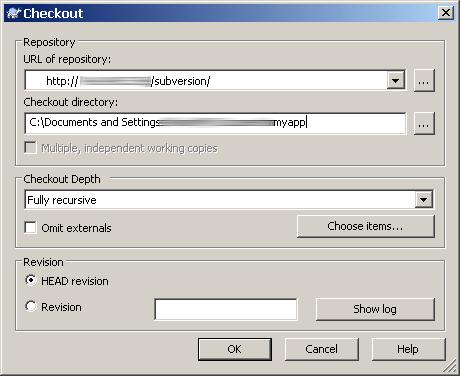TortoiseSVN client access