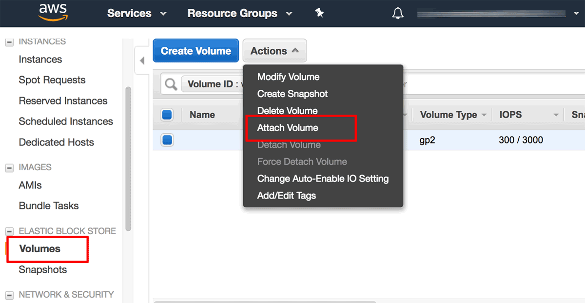 Add Elastic Block Storage (EBS) Volumes for Bitnami Applications on AWS