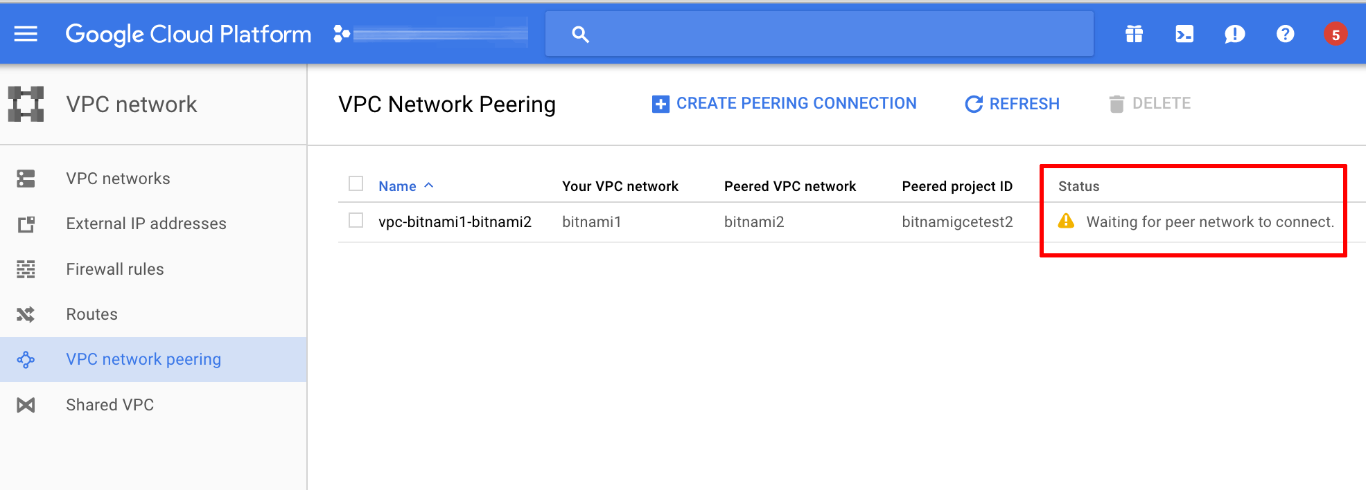 Connect Instances in Different Private Networks using
