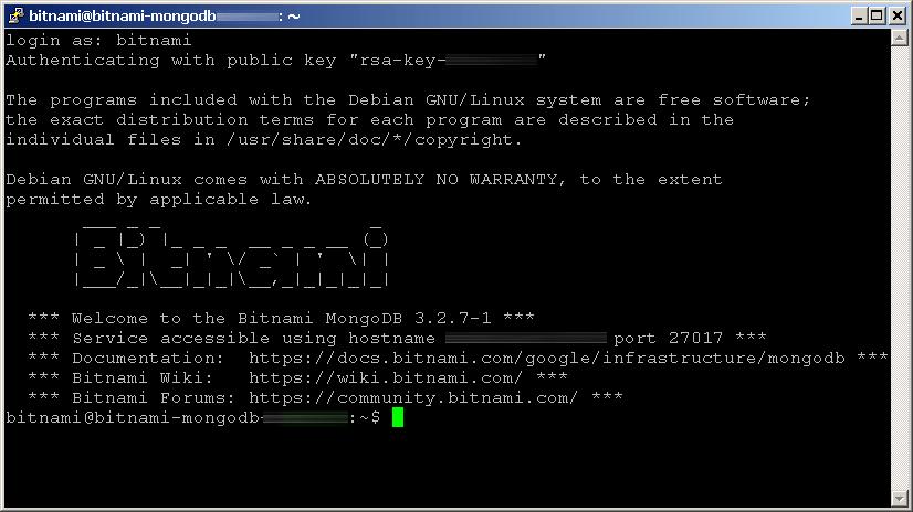 SSH configuration