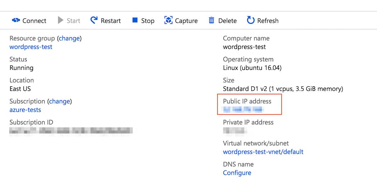 Copy IP address