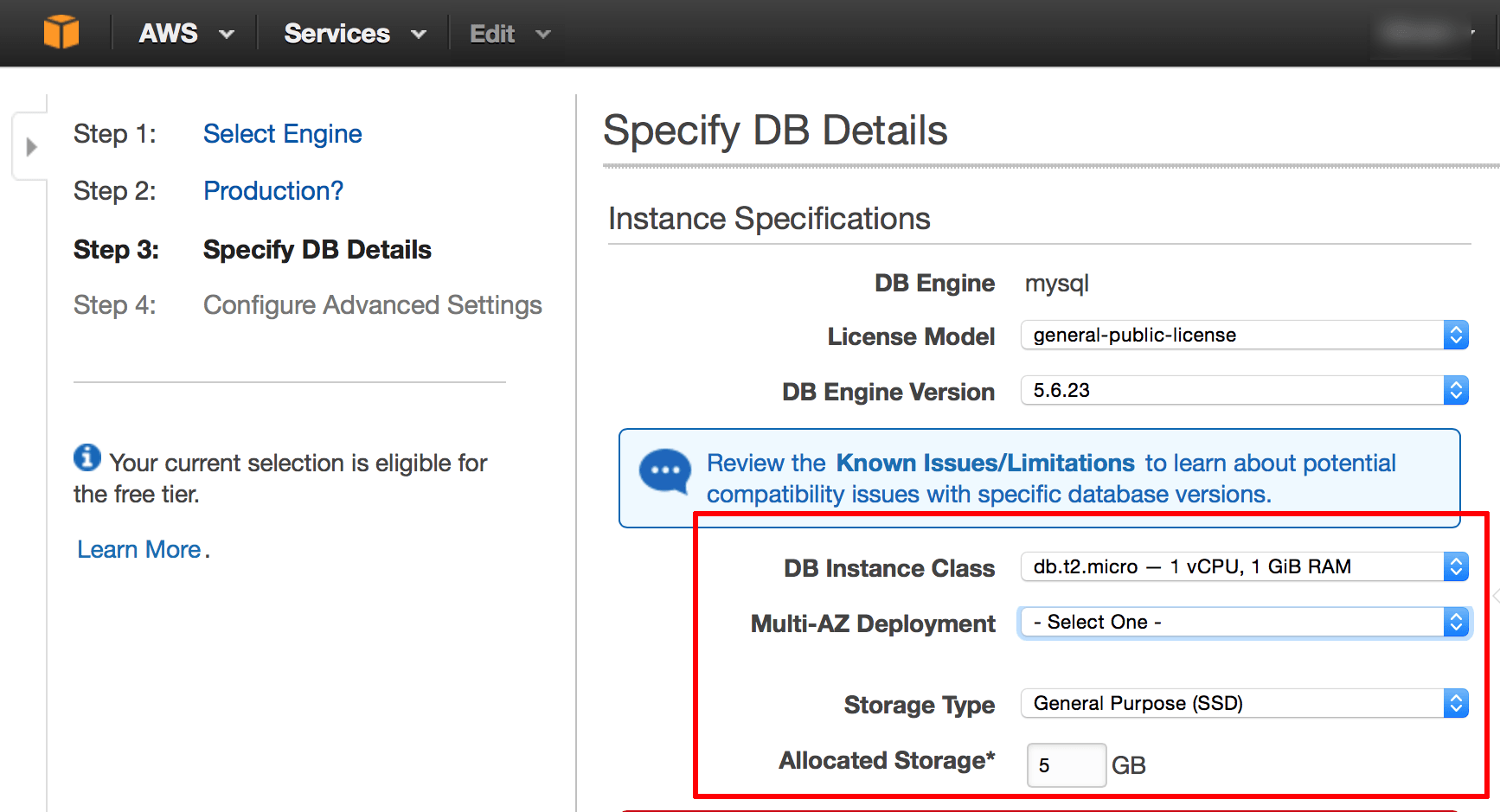 Migrate Your Application Database to Amazon RDS