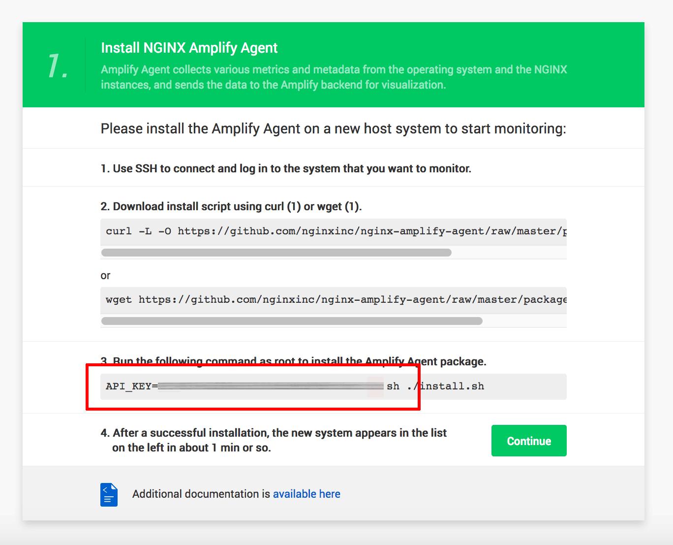 Amplify API key