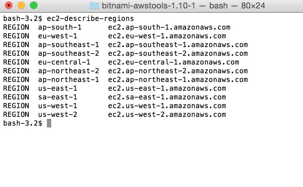 Bitnami Cloud Tools usage