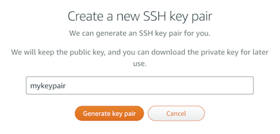 Connect to the server using SSH