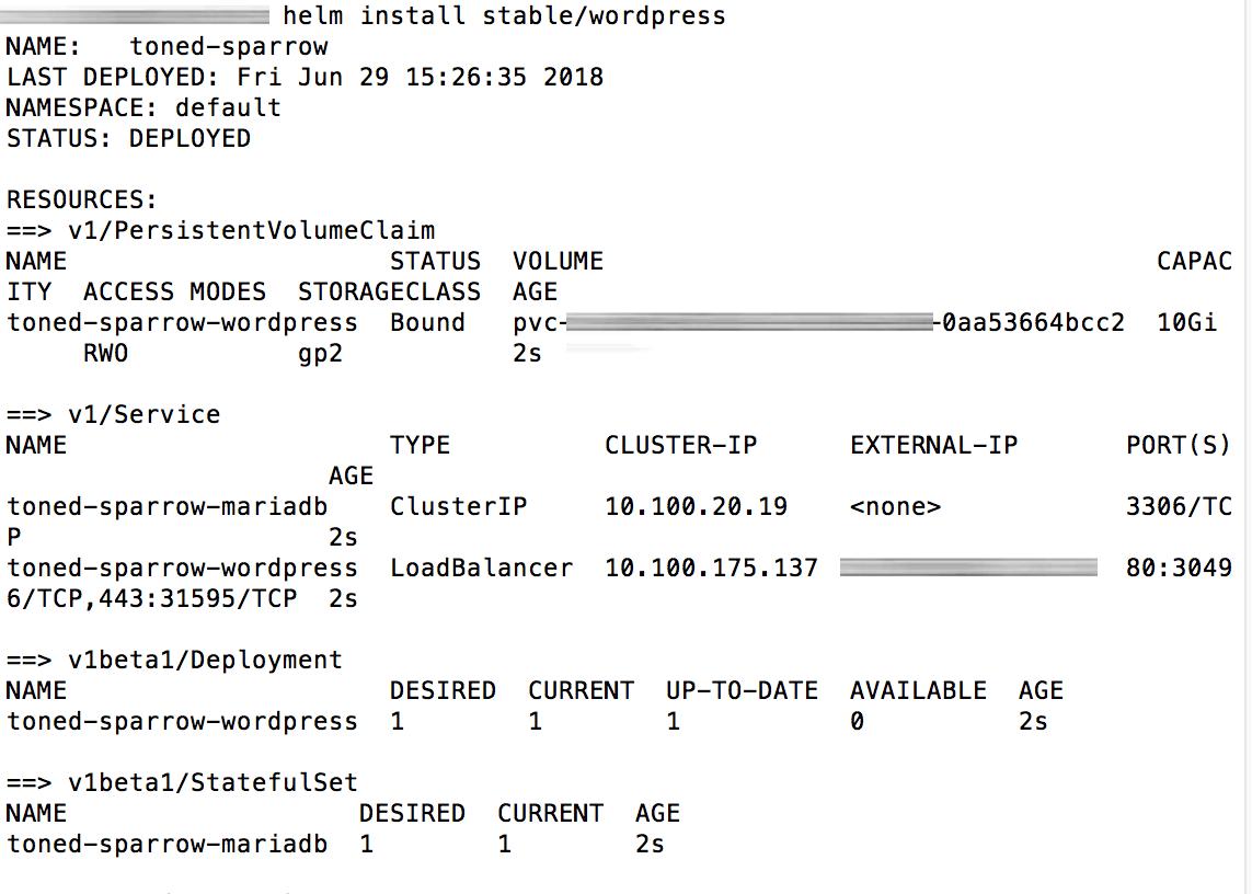 Release deployment
