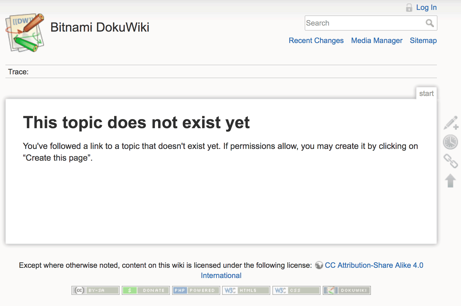 DokuWiki welcome page