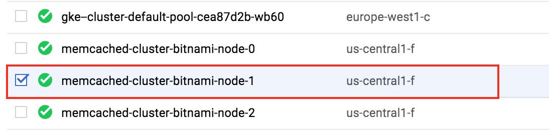 Select the node you want to connect