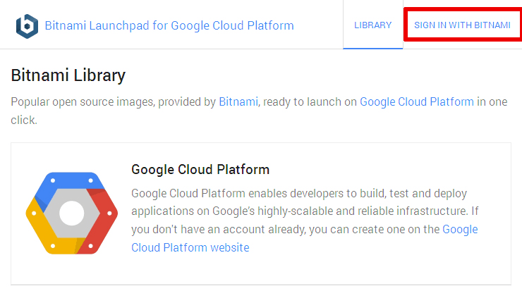 Get Started with the Bitnami Launchpad on Google Cloud Platform