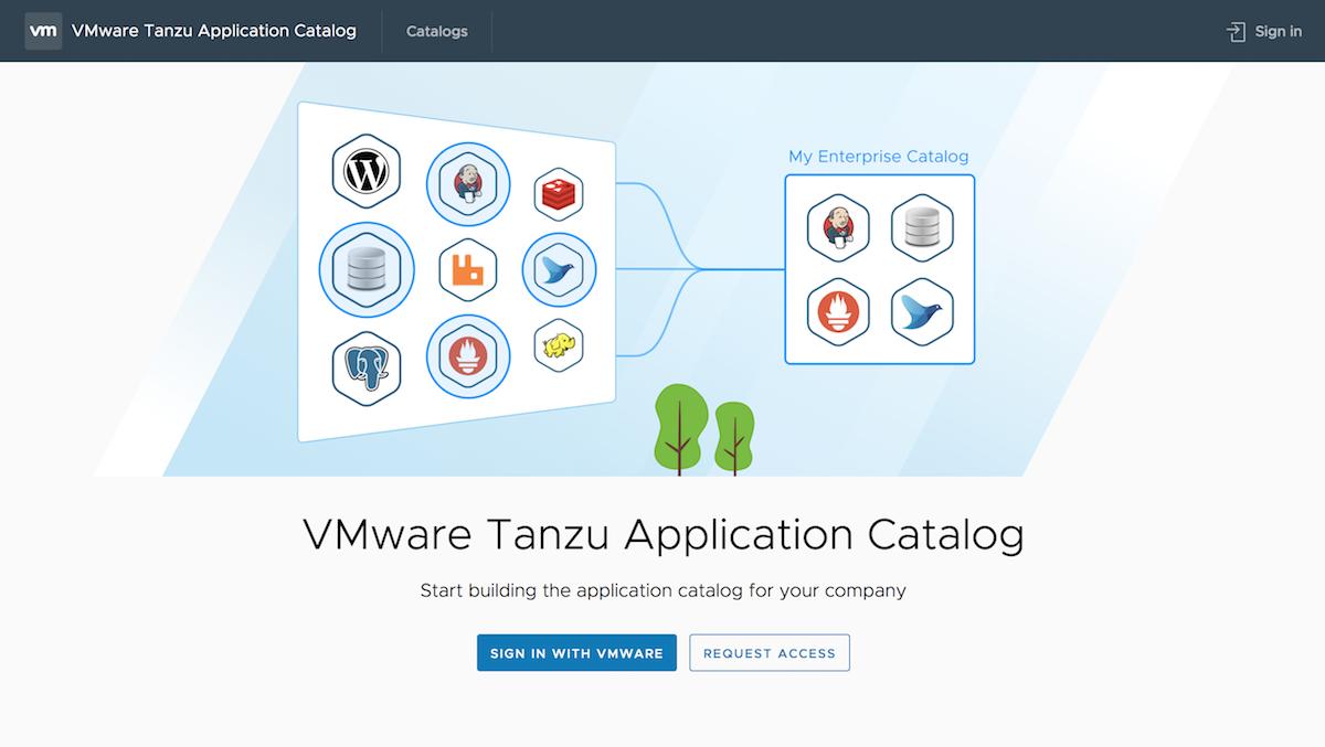 VMware Tanzu Application Catalog