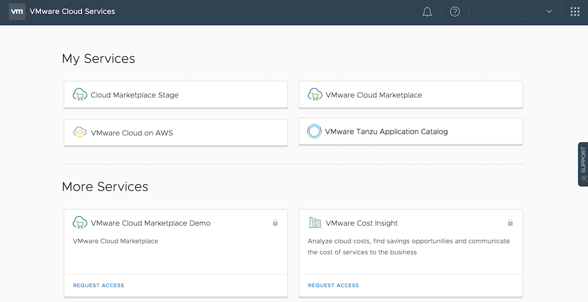 VMware Services