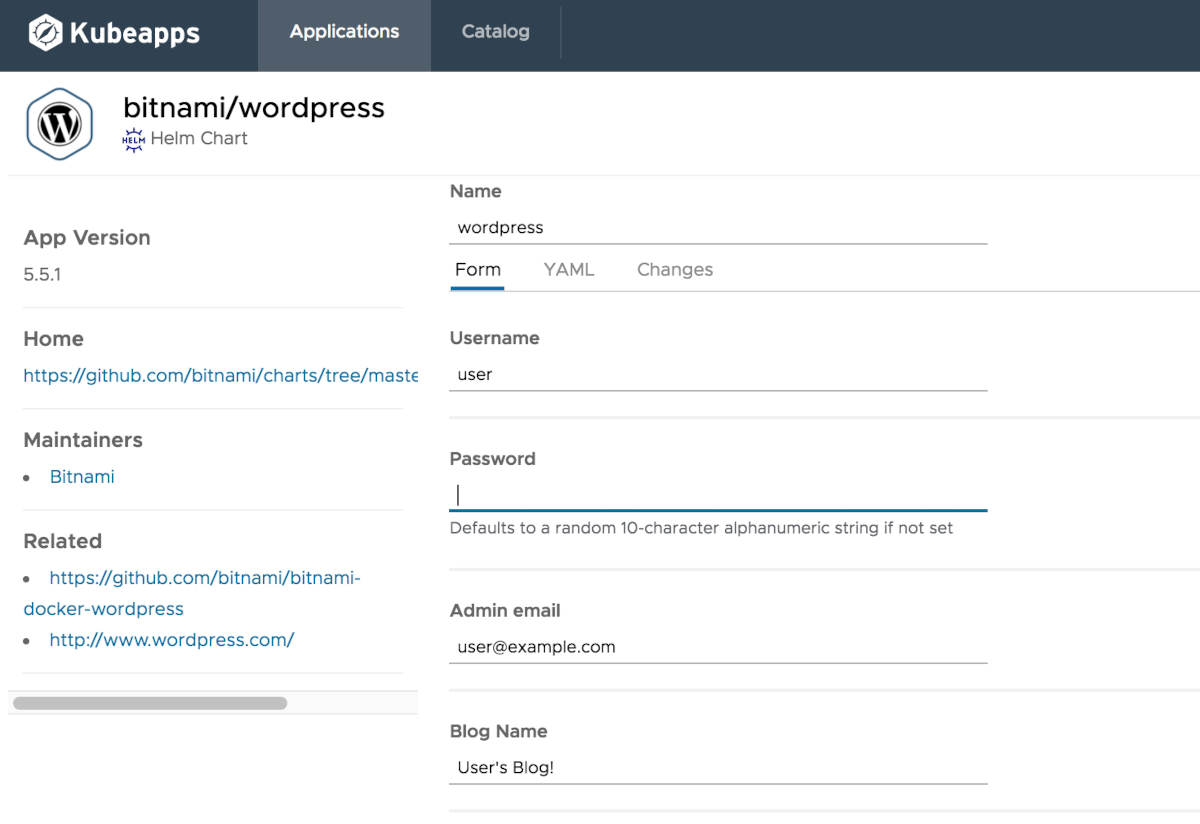 WordPress deployment customization