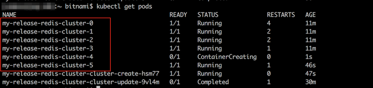 Redis Cluster scale down